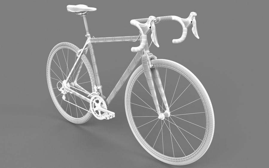 Rennrad Ardis royalty-free 3d model - Preview no. 16