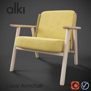 Fotel Lasai 3d model