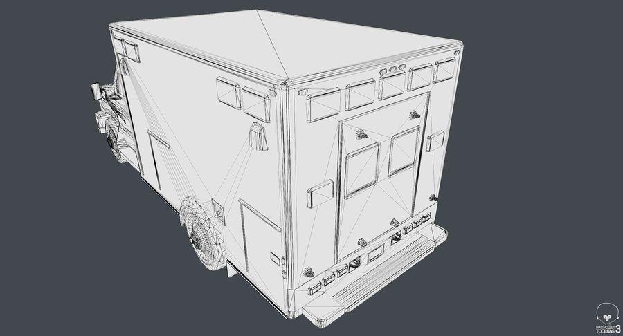 Ambulance royalty-free 3d model - Preview no. 12