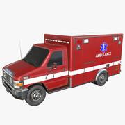 救护车 3d model