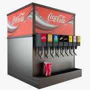 Cold Drink Dispencer 3d model