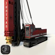 Junttan Rotary Drilling Rig 3d model