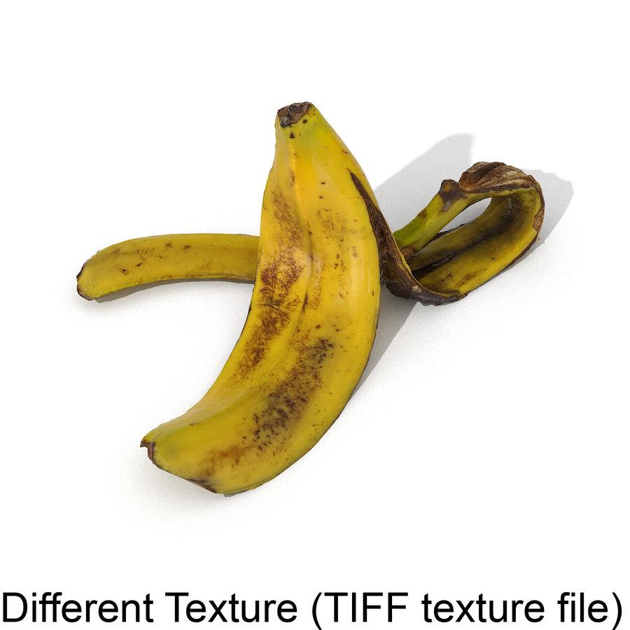Banana Peel Realistic royalty-free 3d model - Preview no. 43