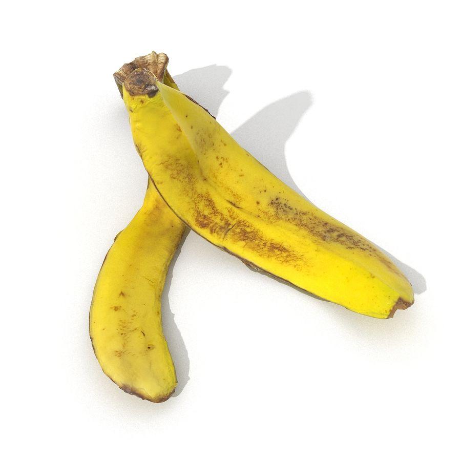 Banana Peel Realistic royalty-free 3d model - Preview no. 15