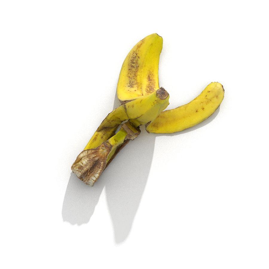Banana Peel Realistic royalty-free 3d model - Preview no. 18