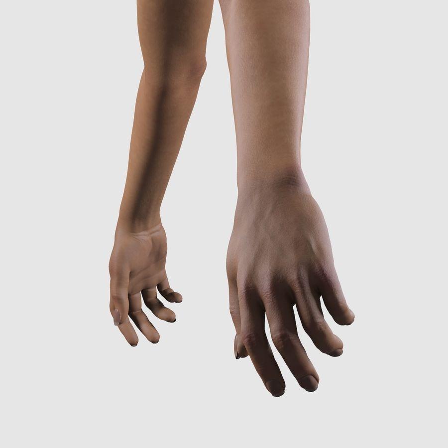 Ręce kobiety royalty-free 3d model - Preview no. 6