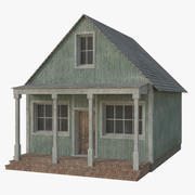 Western Building 6 (Low Poly) 3d model