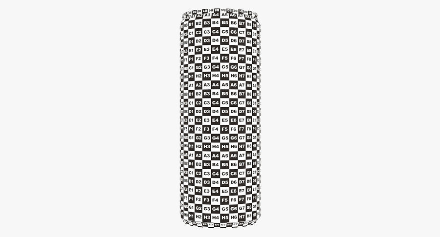 250ml 8.4oz Slim Beverage Can royalty-free 3d model - Preview no. 21