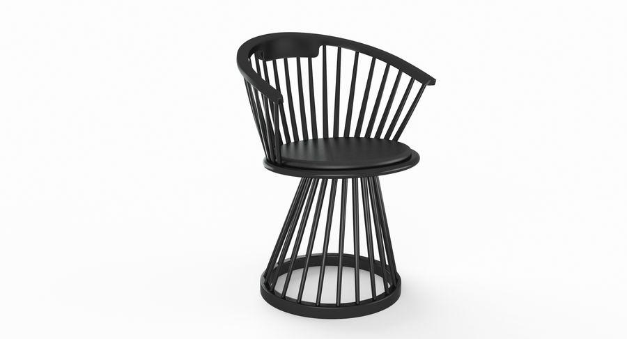 Tom Dixon Fan Dining Chair 3d Model 29 Obj Fbx 3ds