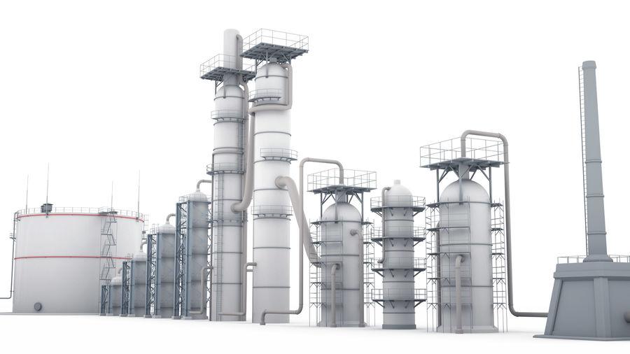 Jednostka rafineryjna royalty-free 3d model - Preview no. 3