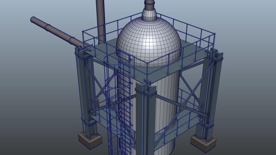 Jednostka rafineryjna royalty-free 3d model - Preview no. 6