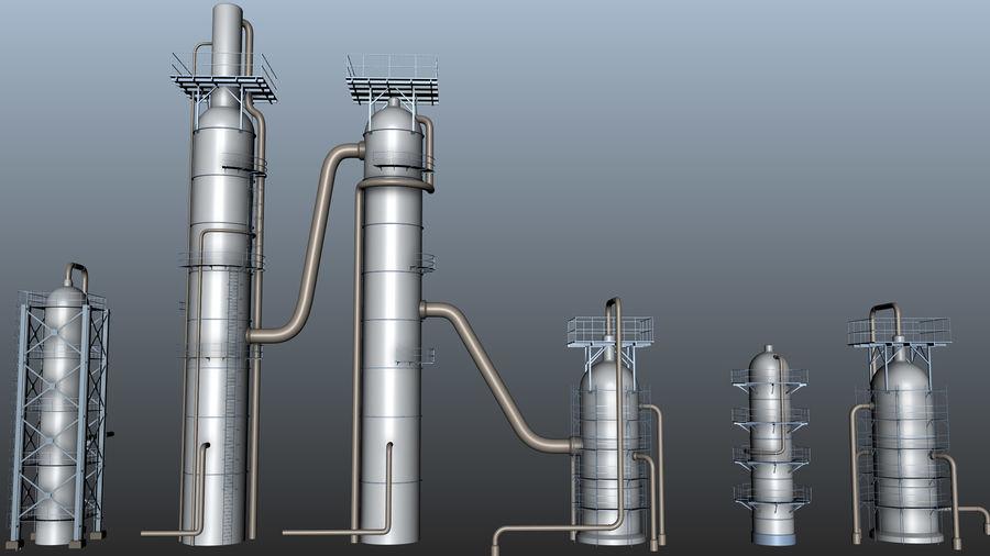 Jednostka rafineryjna royalty-free 3d model - Preview no. 5