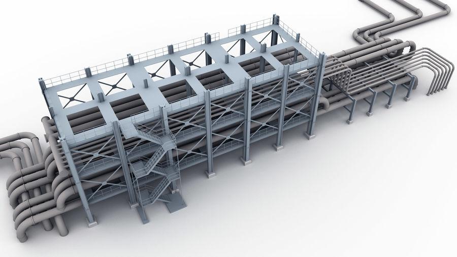 Jednostka rafineryjna royalty-free 3d model - Preview no. 2