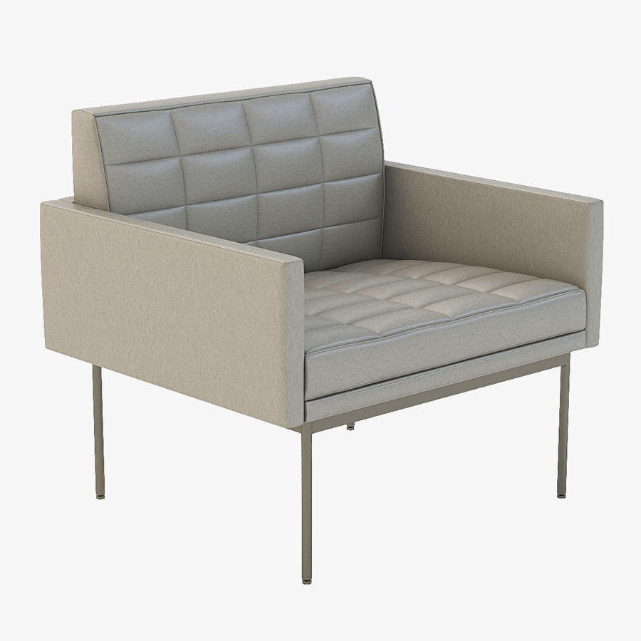 Geiger Tuxedo Component Lounge Chair Royalty Free 3d Model   Preview No. 1