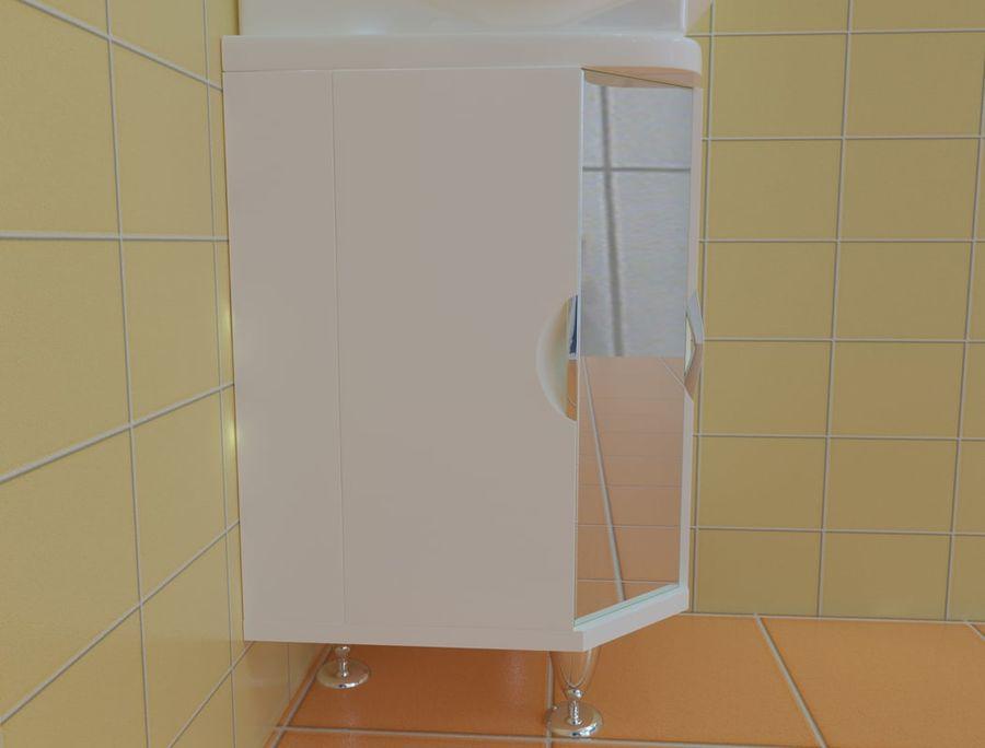 Cabinet corner aqwella royalty-free 3d model - Preview no. 4
