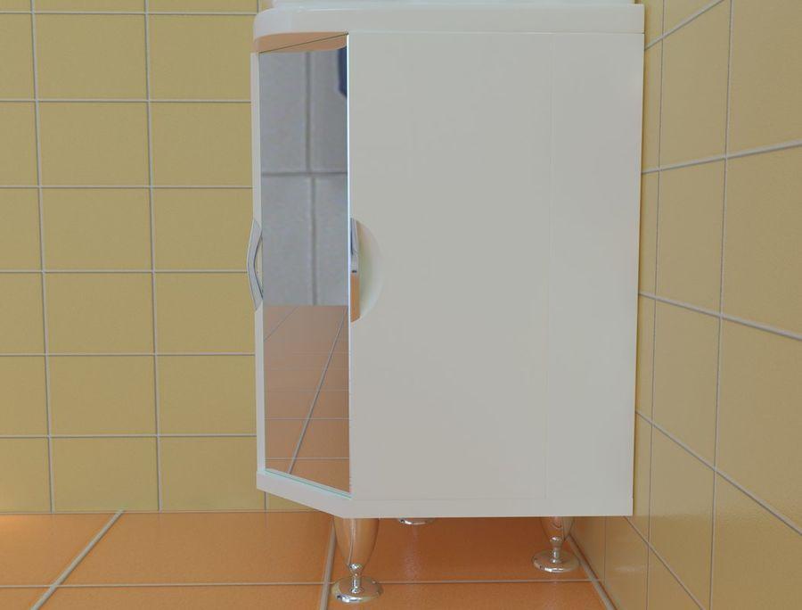 Cabinet corner aqwella royalty-free 3d model - Preview no. 5
