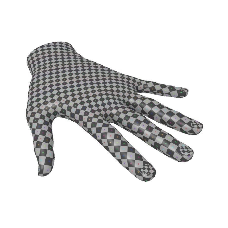 Hand Basemesh royalty-free 3d model - Preview no. 8
