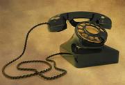 Viejo teléfono retro modelo 3d