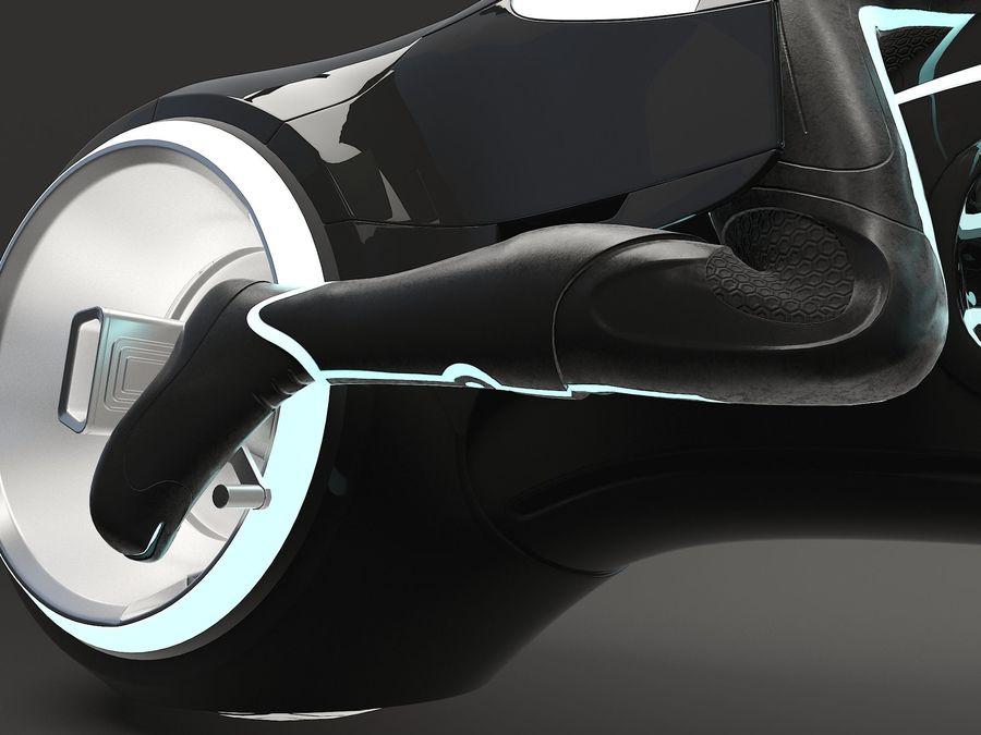 Tron Bike - Light Cycle royalty-free 3d model - Preview no. 9