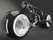 Tron Bike - Leichter Zyklus 3d model