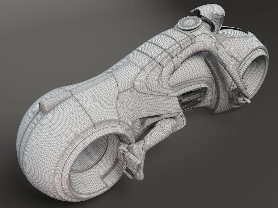 Tron Bike - Light Cycle royalty-free 3d model - Preview no. 13