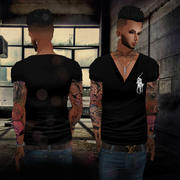 imvu Czarny top 3d model