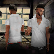 imvu Gray Top 3d model