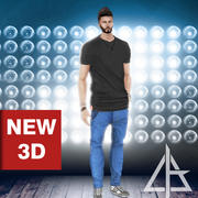 imvu Top Black 3d model