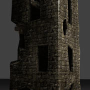 kasteeltoren 3d model