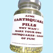 píldoras del terremoto de acme modelo 3d