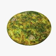Omelette 3d model