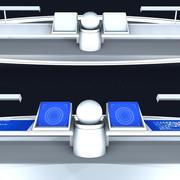 Cockpit do espaço 3d model