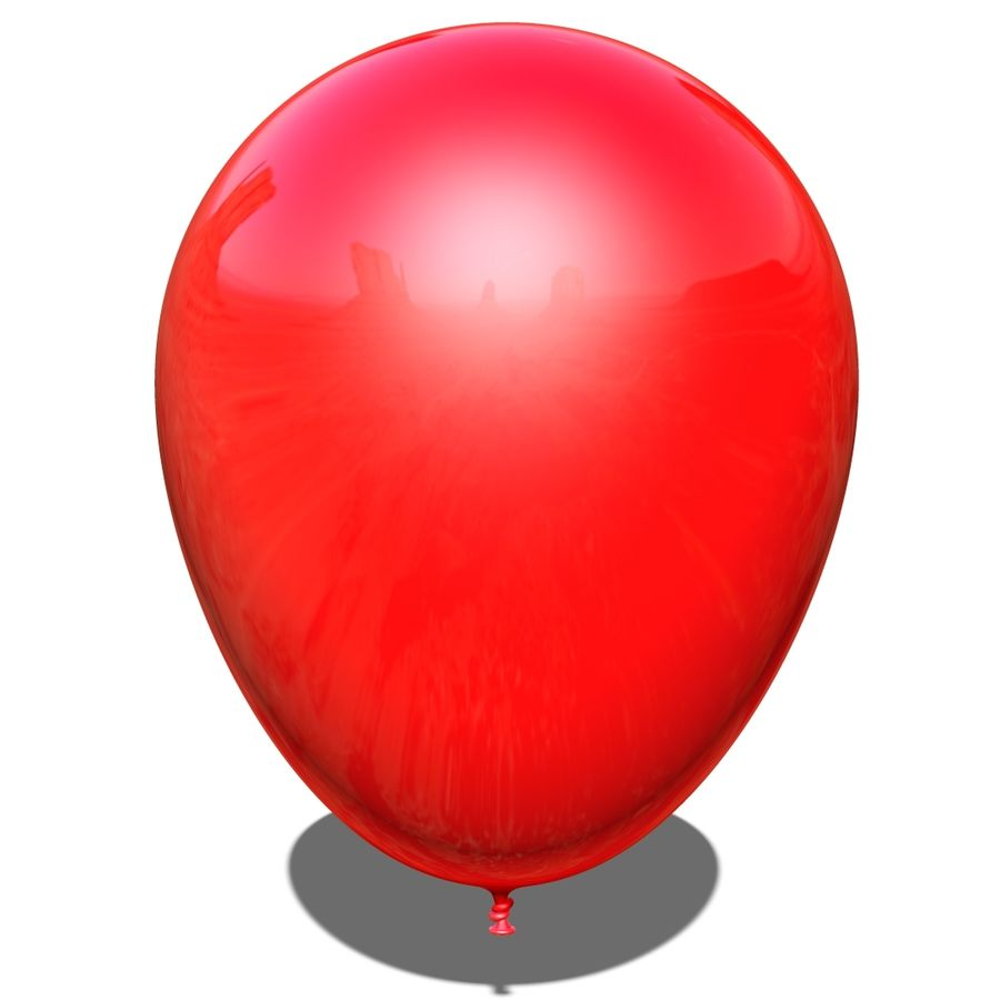 Balloon royalty-free 3d model - Preview no. 5
