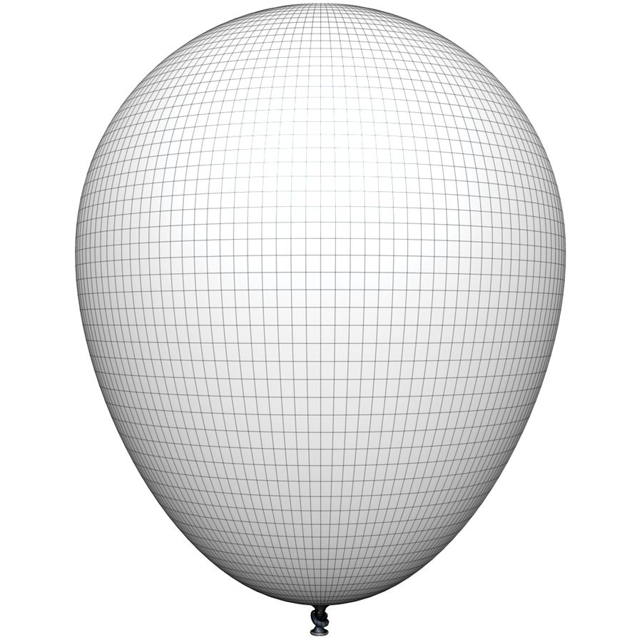 Balloon royalty-free 3d model - Preview no. 14