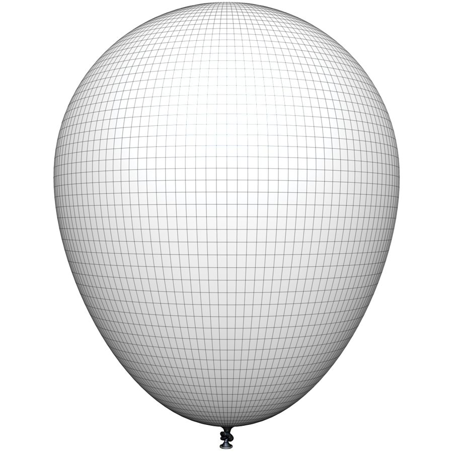 Balloon royalty-free 3d model - Preview no. 13