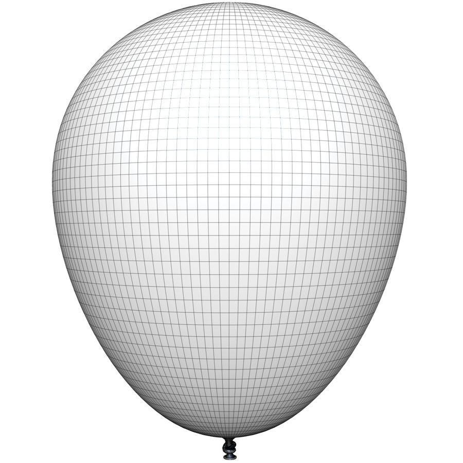 Balloon royalty-free 3d model - Preview no. 15