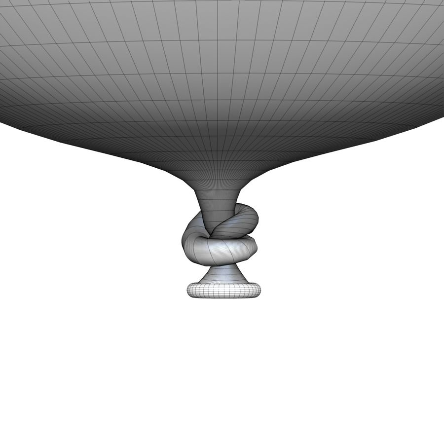 Balloon royalty-free 3d model - Preview no. 16