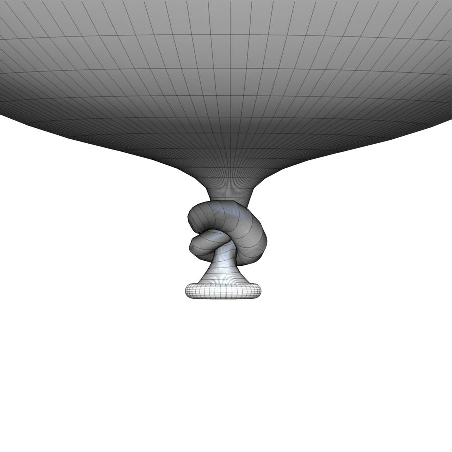Balloon royalty-free 3d model - Preview no. 17