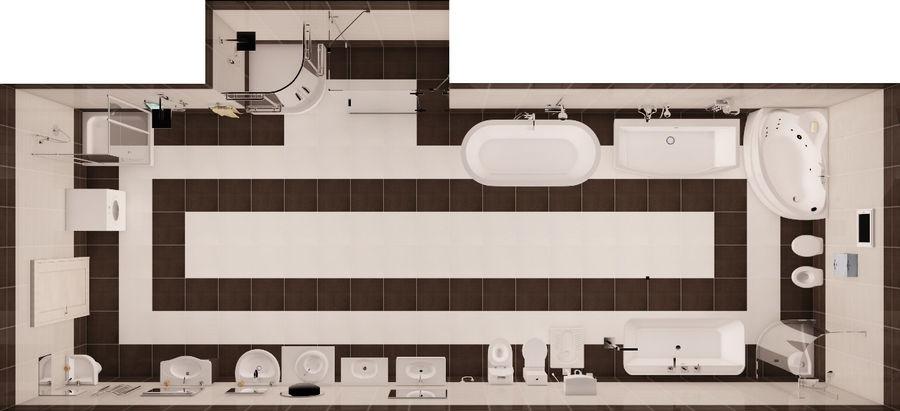 Accesorios de baño royalty-free modelo 3d - Preview no. 7
