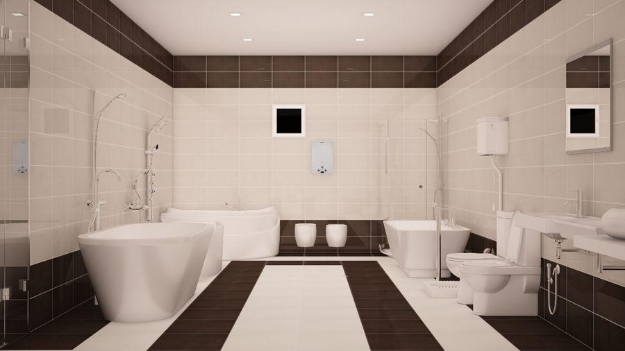 Accesorios de baño royalty-free modelo 3d - Preview no. 1