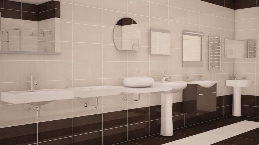 Accesorios de baño royalty-free modelo 3d - Preview no. 3