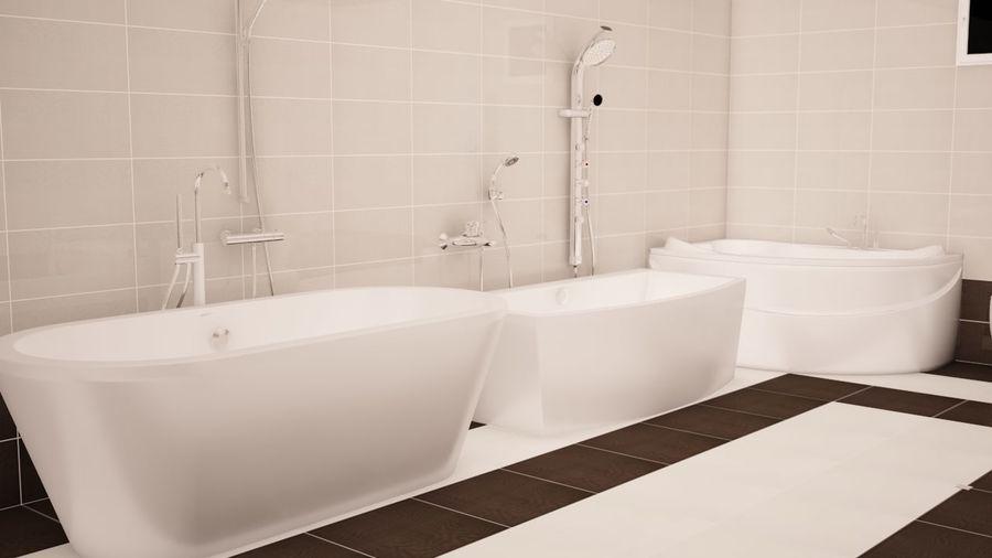 Accesorios de baño royalty-free modelo 3d - Preview no. 5