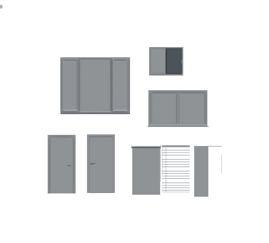 Architecture Pack royalty-free 3d model - Preview no. 6