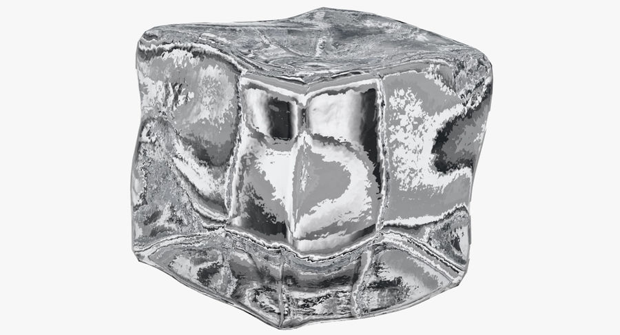 Ice Cube royalty-free 3d model - Preview no. 4