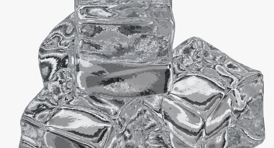 Ice Cube royalty-free 3d model - Preview no. 6