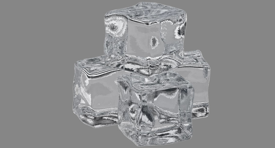 Ice Cube royalty-free 3d model - Preview no. 3