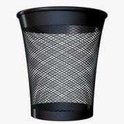 Office trash 3d model