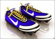 Sneakers Cartoon 3d model