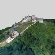 卡奇提斯城堡 3d model