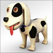 Dog Cartoon 3d model